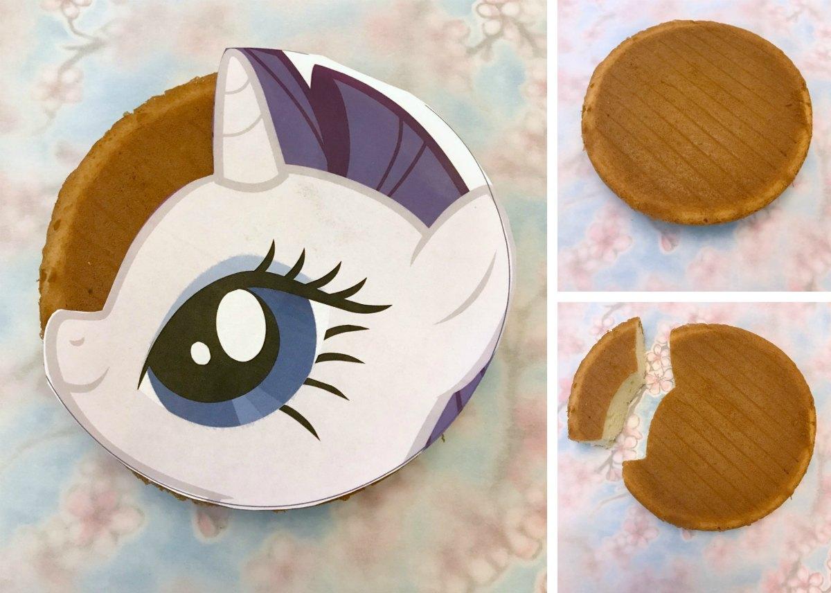 My Little Pony Cake Tutorial 1
