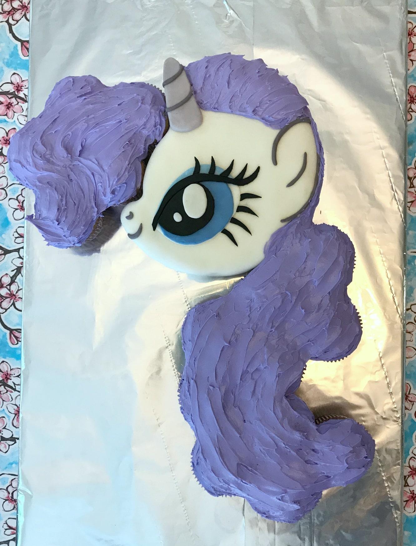 My Little Pony Cake Tutorial 11