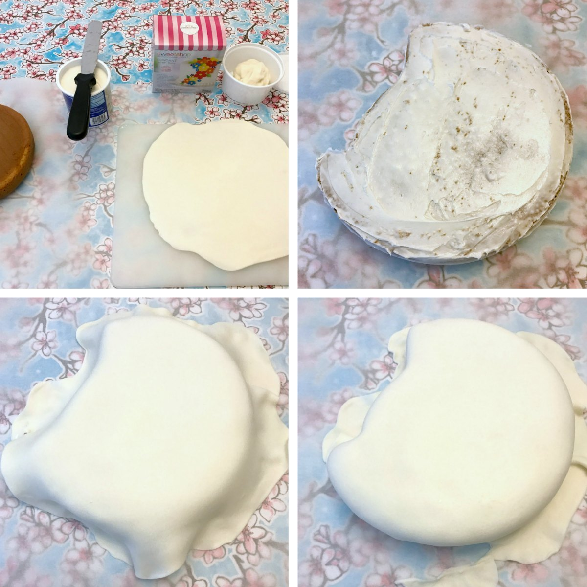 My Little Pony Cake Tutorial 2
