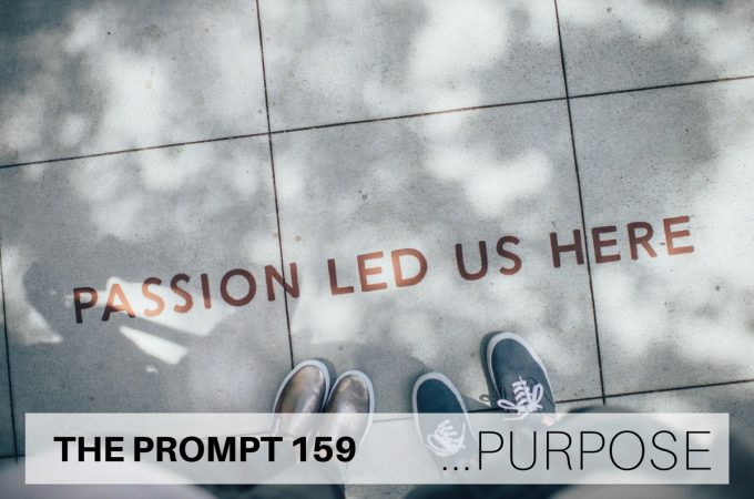 THE PROMPT 159: Purpose