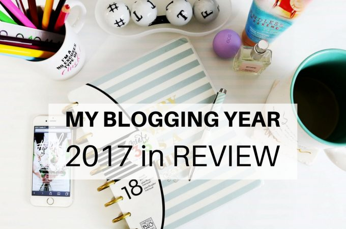My Blogging Year: 2017 in Review