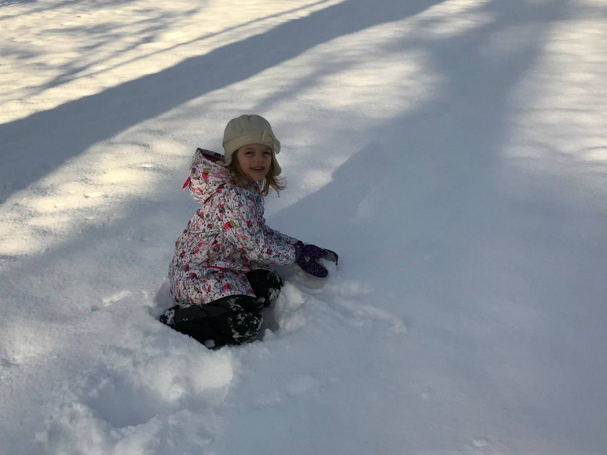 Snapshots from the snow 12