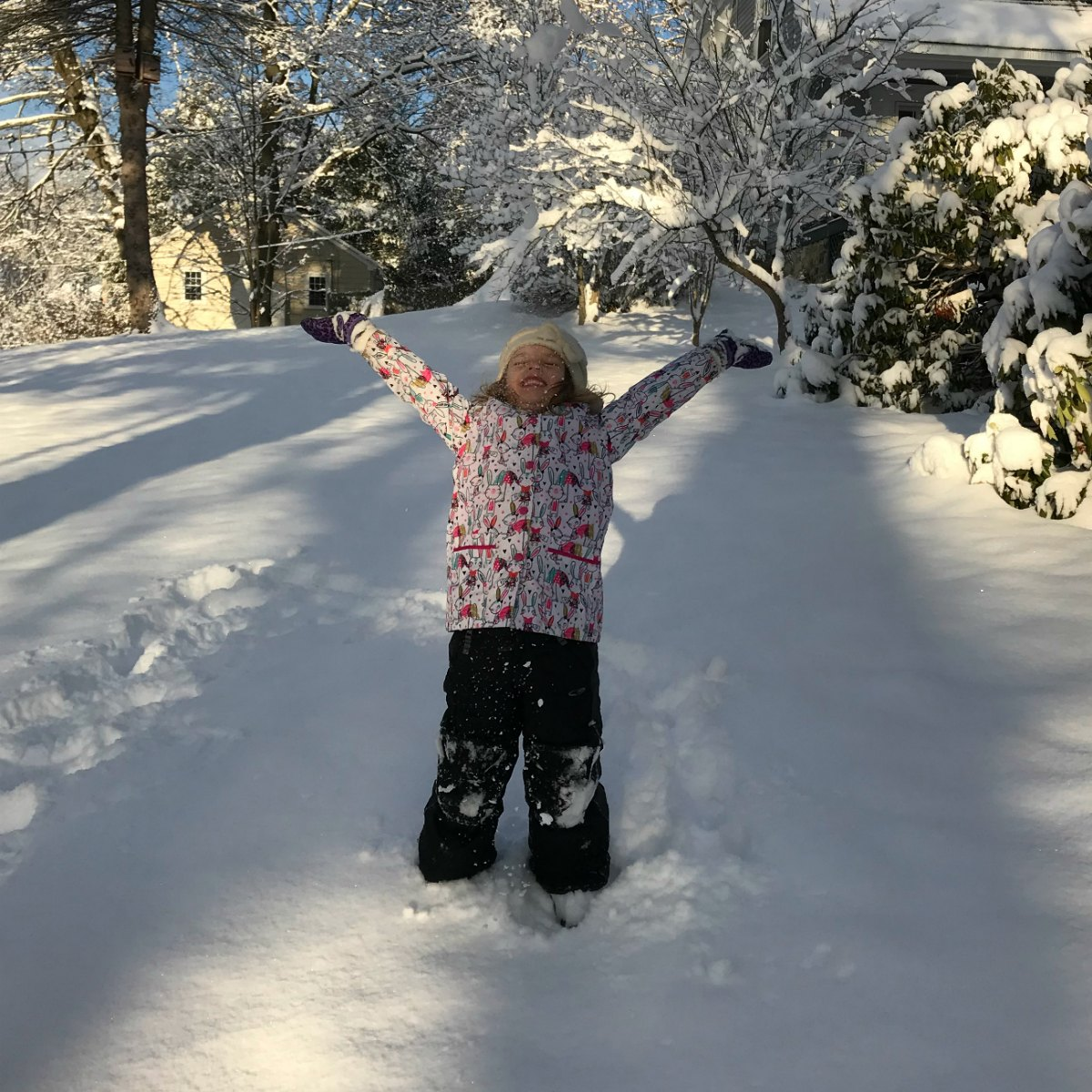 Snapshots from the snow 14