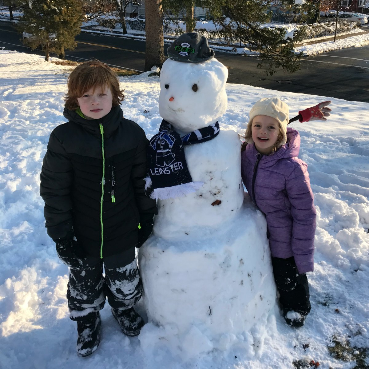 Snapshots from the snow 17