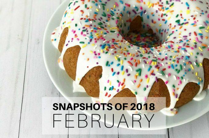 Snapshots of 2018: February